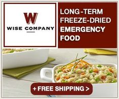 Wise Food Storage offers a fantastic selection of long term survival food and emergency food kits. Browse our selection and get prepared today! Emergency Food Kits, Emergency Food Storage, Survival Food, Prepper Food, Camping Survival, Survival Tips, Survival Skills, Wise Food Storage, Long Term Food Storage
