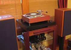pictures of thorens td-150 turntables   James O'Donnell's Thorens TD150 mkII