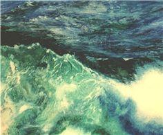 Meereswelten. 60 x 80 cm, Acryl  auf  Holz, Malerei von Willi Gottschalk Waves, Painting, Outdoor, Painting Art, Timber Wood, Outdoors, Paintings, Ocean Waves, Outdoor Games