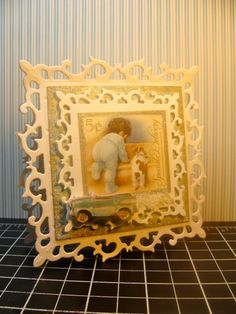 IC328 - Framed Baby Gift Cards by girlgeek101 - Cards and Paper Crafts at Splitcoaststampers
