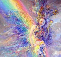 Iris Es la Diosa del Arco Iris. Se la representa con alas en sus pies. Es una energía de creatividad, inspiración, ligereza y liviandad.