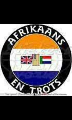 Afrikaans en trots! South African Flag, Culture Day, Previous Life, Ol Days, My Land, Twisted Humor, My Heritage, African History, Good Ol