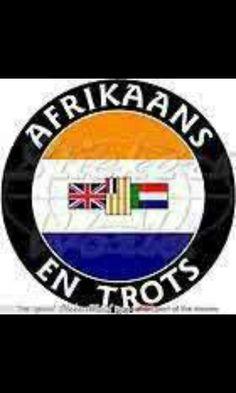 Afrikaans en trots!