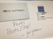 Free $25 Best Buy giftcard sign up here http://www.points2shop.com ...