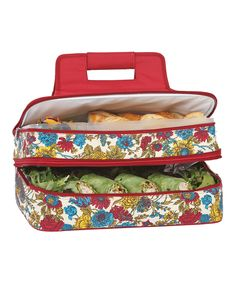 Take a look at this Floribunda Entertainer Food Carrier today!