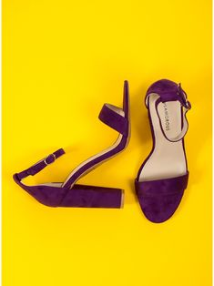 Glamorous Heel Sandals-Purple - Πέδιλα - Υποδηματα - Γυναίκα Purple, Heels, Shopping, Sandals, Heel, High Heel, Viola, Stiletto Heels, High Heels