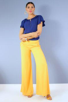 Blusa manga corta con bolero en escote y botones decorativos - Unipunto Stylish Dresses, Cute Dresses, Jumpsuit, Plus Size, Blouse, Fashion, Templates, Vestidos, Pants Outfit