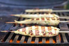 Bigmeatlove Rezepte - LIMETTEN MINZ HÄHNCHEN SPIESSE - spicy Foodblogger, Grill Pan, Grilling, Bbq, Easy Peasy, Sea Salt, Mint, Fresh, Finger Food
