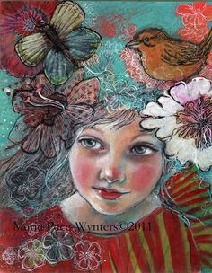 awaking dream by Maria Pace-Wynters on etsy