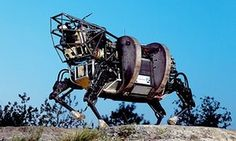 Alphabet sells off 'BigDog' robot maker Boston Dynamics to Softbank Robot Technology, Science And Technology, Google S, Google Drive, Big Dogs, Large Dogs, Robot Militar, Interesting News Articles, Military Robot