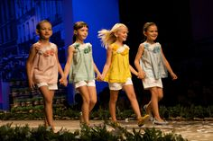 Colours of the season from Il Gufo for children's fashion summer 2013