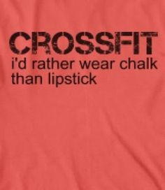 CROSSFIT ladies ... idk how accurate that is.. i'll give it another few months