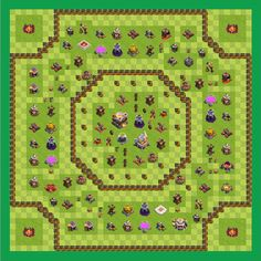 Farming Base Town Hall 11 (gemer Layout) (By Gemer Angelo Javate)