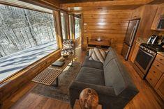 SALA Architect Kelly Davis Designed ESCAPE RV project for Canoe Bay