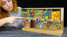 Smart Girl Shows How to Build Candy Dispenser  The Q https://www.youtube.com/channel/UCZdGJgHbmqQcVZaJCkqDRwg   The Q Girls!