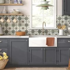 There is no question that designing a new kitchen layout for a large kitchen is much easier than for a small kitchen. A large kitchen provides a designer with adequate space to incorporate many convenient kitchen accessories such as wall ovens, raised. Farmhouse Sink Kitchen, Modern Farmhouse Kitchens, Rustic Kitchen, New Kitchen, Awesome Kitchen, Smart Kitchen, Hot Pink Kitchen, Stainless Steel Farmhouse Sink, Two Tone Kitchen