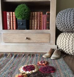 Fall trends Transitioning into Autumn. Warm tones of weathered woods, handmade textiles, and natural organic elements ease your decor into the cooler months. 2015 Trends, Fall Trends, Home Decor Trends, Fall Home Decor, Autumn Home, Panel Bed, Weathered Wood, Round Dining Table, Bed Furniture