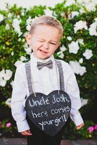Weddings | Filles et Garcons - Cheeky ringbearer - #weddings #ringbearer #kids