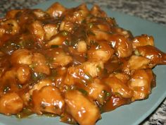 Kick off those heels n' cook!: General Tso Chicken