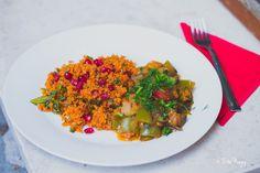 Török padlizsánragu gránátalmás fűszeres bulgursalátával (laktózmentes, vegán) + Török vegán főzőkurzus (beszámoló) | Zizi kalandjai – Valódi ételek, valódi történetek