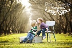 Seriously one of the sweetest pictures of the cutest siblings. http://www.facebook.com/#!/pages/Gwen-Hawkins-Photography/194083221264