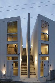 Skeleton House, Yokosuka, Kanagawa, 2012 #architecture #design #modern