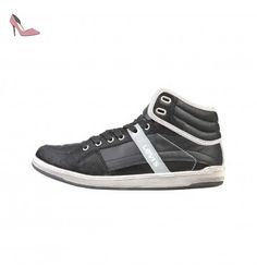 Almayer Lite, Baskets Hommes, Noir (Noir Regular Black), 44 EULevi's