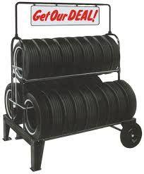 tire display rack - Buscar con Google