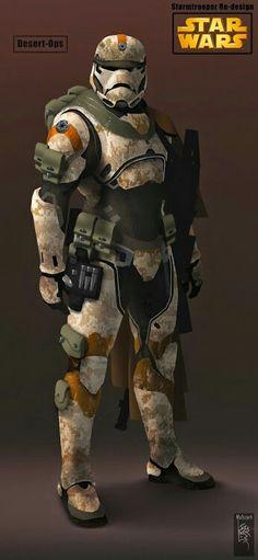 Desert ops trooper