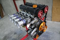 4Cyl Twin Cam 16V Toyota modified engine✔️