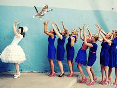 Why Throw A Bouquet At Your Wedding When You Could Throw Cats?