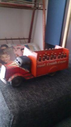 Antiguo camión orange crush