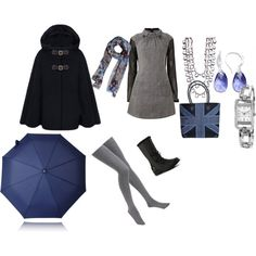 """Blues days"" by newette on Polyvore"