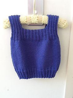 Ravelry: Chickadee pattern by Patons & Baldwins Doll Clothes Patterns, Clothing Patterns, Toddler Vest, Knit Vest Pattern, Big Knit Blanket, Baby Pullover, Big Knits, How To Start Knitting, Baby Vest