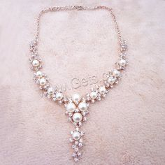 Plastic Pearl Necklace,