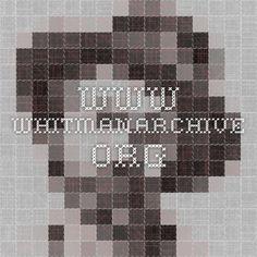 www.whitmanarchive.org