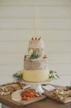 A Cheese Wedding Cake? yummmm  20 Wow Alternative Wedding Cakes