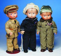 "vintage+effanbee+skippy+doll | 281: EFFANBEE SKIPPY ""SAILOR"" COMPOSITION DOLL. © P. L"