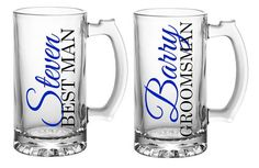 Personalized Groomsmen Gift, Groomsmen Beer Mugs, Groomsman Beer Mugs, Best Man Gift Wedding Gifts For Bridesmaids, Gifts For Wedding Party, Party Gifts, Wedding Ideas, Wedding Parties, Diy Wedding, Dream Wedding, Wedding Inspiration, Wedding Dresses