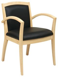 Napa maple guest chair with full cushion back $200-261