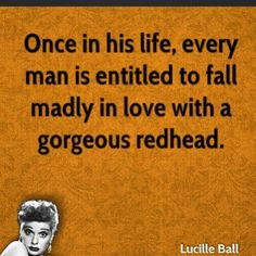 Mission complete! Follow mine @hellacoolgirl #redhead #realredhead #loveofmylife #soulmate #love #iloveredheads #mostamazingwomaniveevermet #lucilleball #lucy