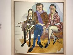 Family(John, Jane, Julia), Alice Neel 1970