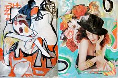 NYC Artist Micci Cohan / Sketch Books  http://www.miccicohan.net/blog/this-weeks-sketch-books-and-more/