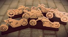 Wooden motorcycles
