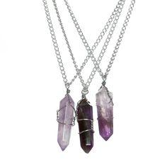 Necklaces :: Amethyst Divination Necklace -