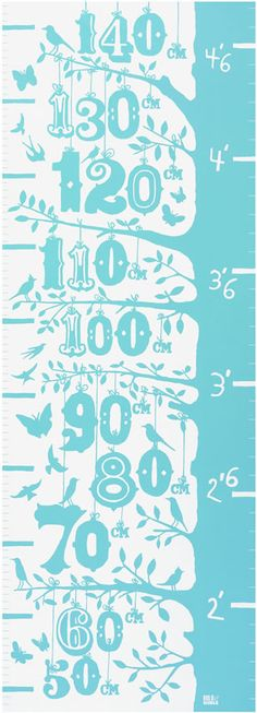 Grow Height Growth Chart decorative screen print by boldandnoble Diy Art Projects Canvas, Diy Projects To Try, Diy Crafts For Bedroom, Diy Crafts To Sell, Dollar Store Centerpiece, Height Growth, Height Chart, Charts For Kids, Diy For Kids