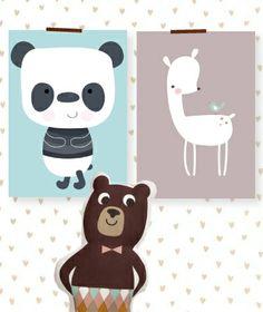 Kinderkamer in stijl, nieuw blog #posters #behang | Kinderkamerstylist.nl