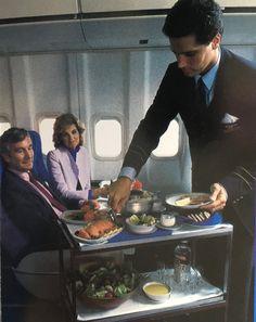 Pan Am 747 First Class Service