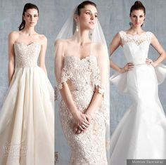 Our editor's top picks from Modern Trousseau Spring 2015 Wedding Dress Collection