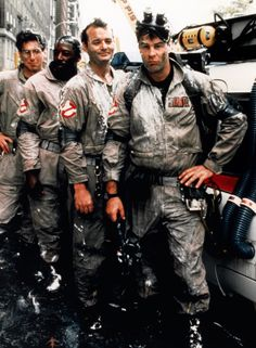Ghostbusters. Especially painful now, but these will always be my boys <3